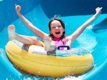 wild wild wet water slide