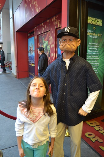 funny faces in ripleys nyc