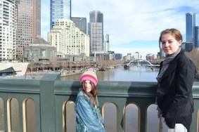 melbourne view from bridge
