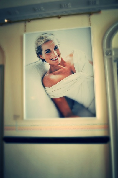 photo of diana in kensington palace