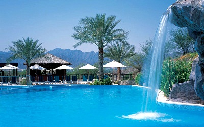 hatta fort hotel pool