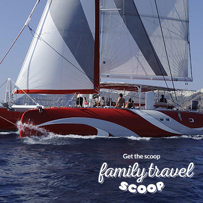 Sailing tour of Santorini