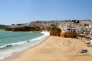 seaside town Algarve