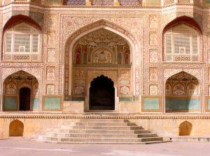 Amber palace in Jaipu