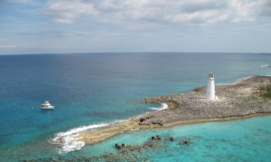 lighthouse in bahamas