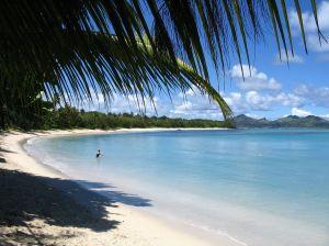 fiji beach view