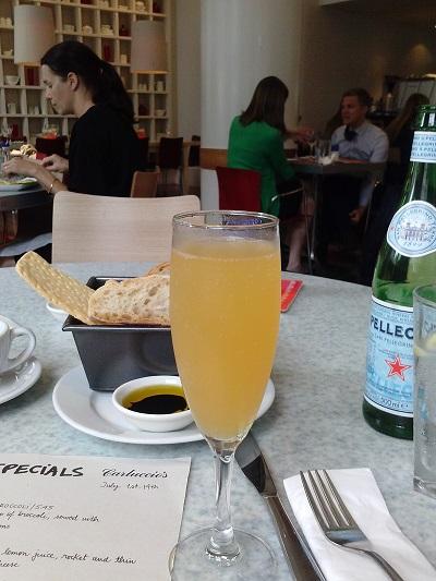 mimosa at carluccios