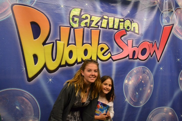 Gazillion Bubble Show NYC
