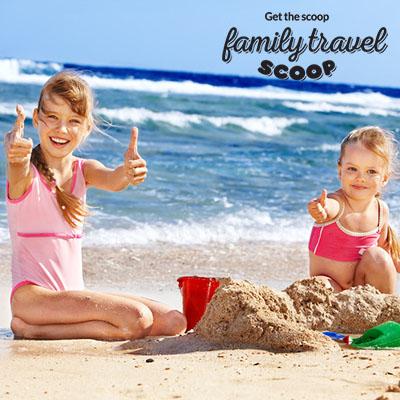 malta beach with kids