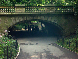tunnel in central park