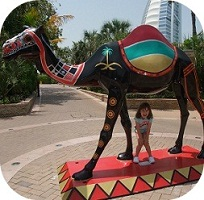 child in abu dhabi