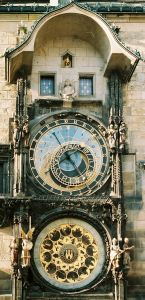 astronomical clock in old town square prague
