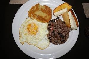 costa rican breakfast
