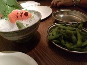 sashimi at fleshand buns