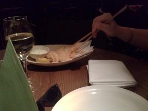 tempura at flesh and buns