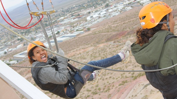 ziplining in las vegas