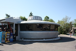 flying saucer restaurant in Niagara Fall