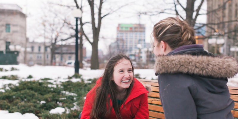 two girls in ottawa-photo by flytographer