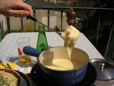 cheese fondu