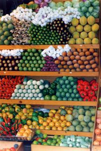 fruit stall in Thailand