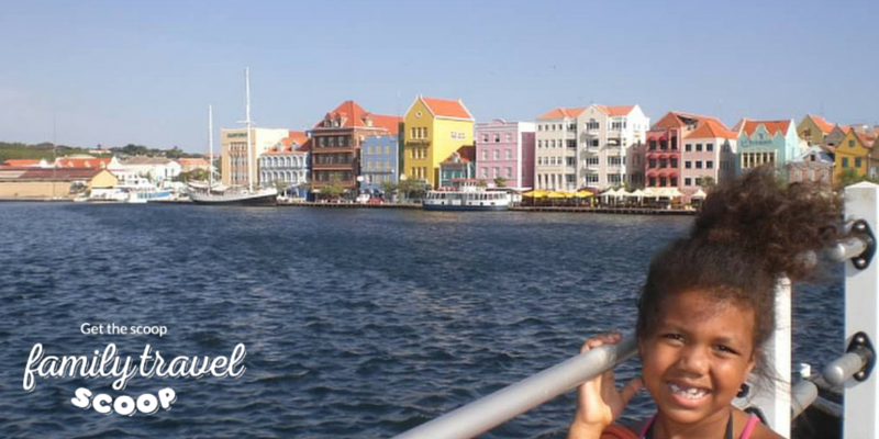 Child in Curacao