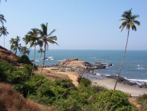 goa sea view