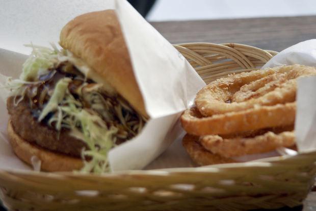 hamburger onion rings