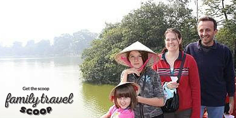 Family Trip to Hanoi