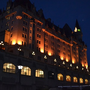 chateau laurier on the haunted walk