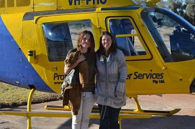 enjoy a helicopter ride over the canyo