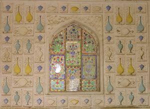 a window in Jaipur
