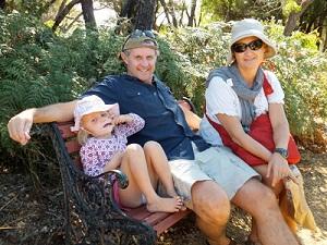 enjoying the campground