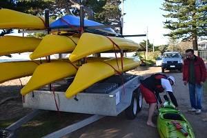 kayak preparatio