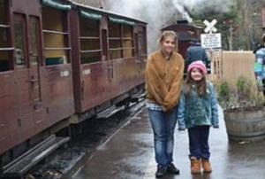 kids at the puffing billy
