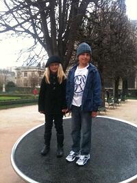 children in paris