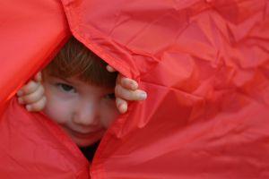 child camping