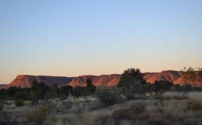 Kings Canyon at Sunse