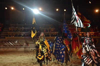 teams at medieval times