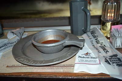 dinner at medieval times