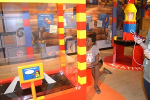 girl at legoland toronto