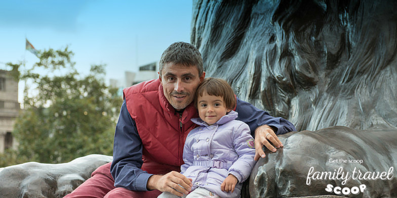Father and Daughter in London