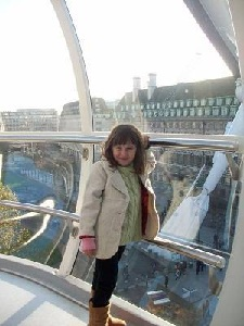 child on the london eye