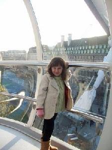 child on the london eye