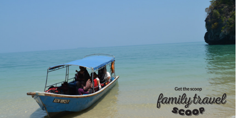 langkawi boat tour with kids