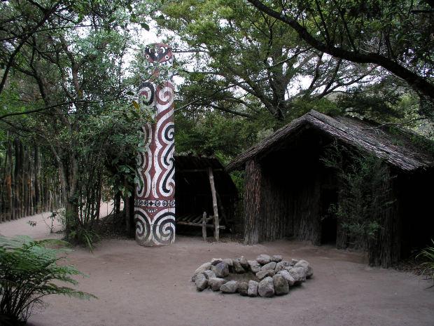 Maori cooking spot