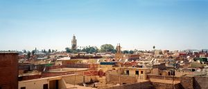 marrakech city view