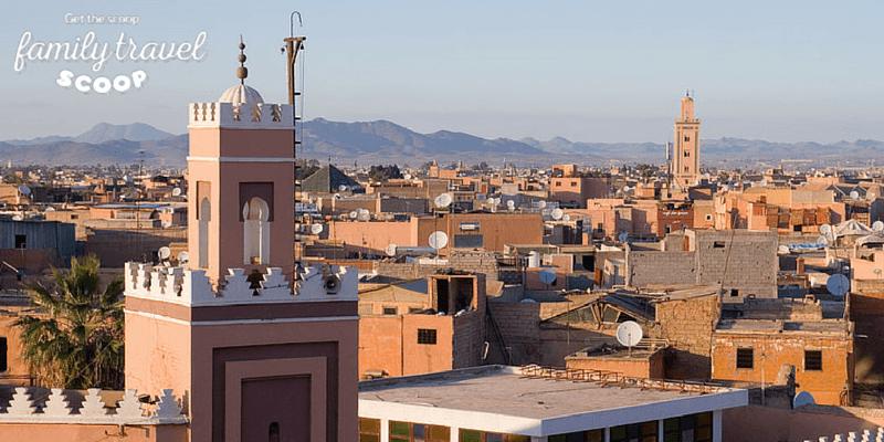 Marrakech city view