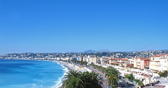 sea view at nice franc