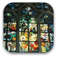 prague stain glass