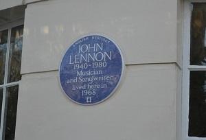 john lennon crest